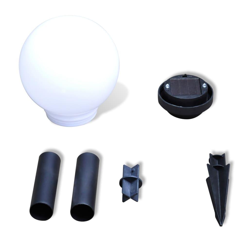 der au enlampe solarlampe led gartenkugel kugellampe 4tlg. Black Bedroom Furniture Sets. Home Design Ideas
