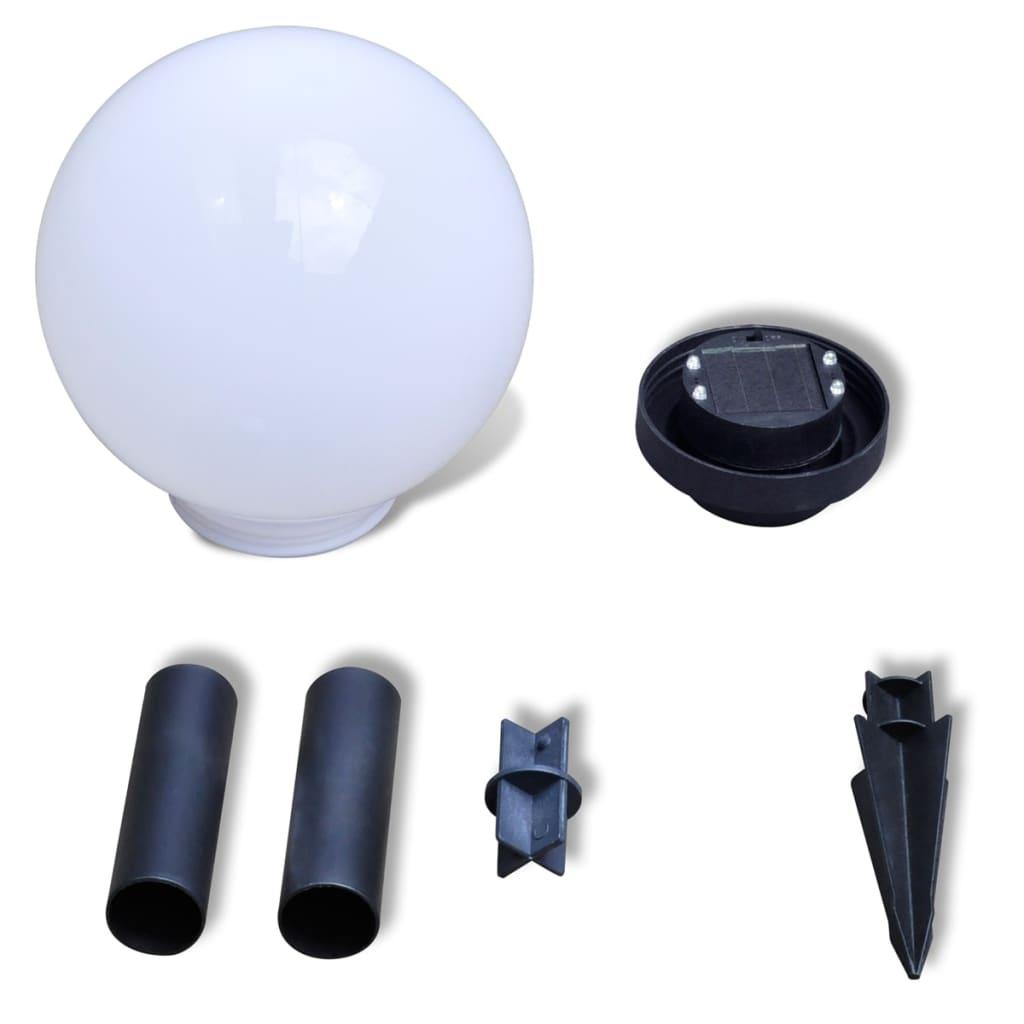 au enlampe solarkugel solarlampe led kugellampe 3tlg. Black Bedroom Furniture Sets. Home Design Ideas
