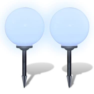 Boule solaire extérieure 30cm 2 pièces[3/6]