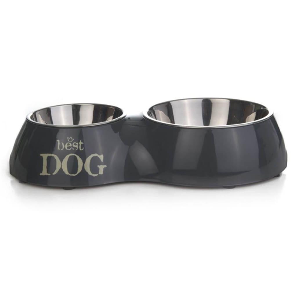Afbeelding van Beeztees Dubbele voederbak Best Dog 510 ml 31x17,5 cm 650395