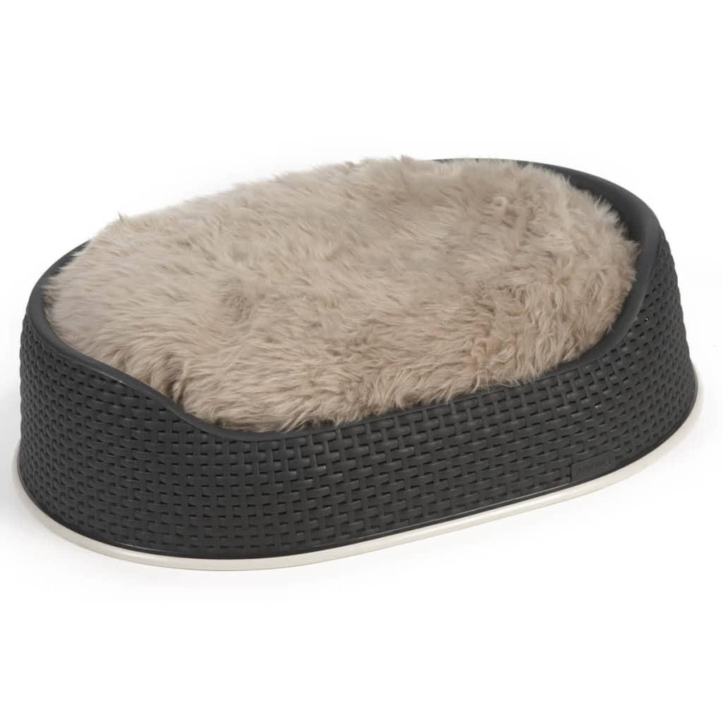 acheter beeztees coussin pour chiens curiva 95 x 75 cm ovale beige pas cher. Black Bedroom Furniture Sets. Home Design Ideas