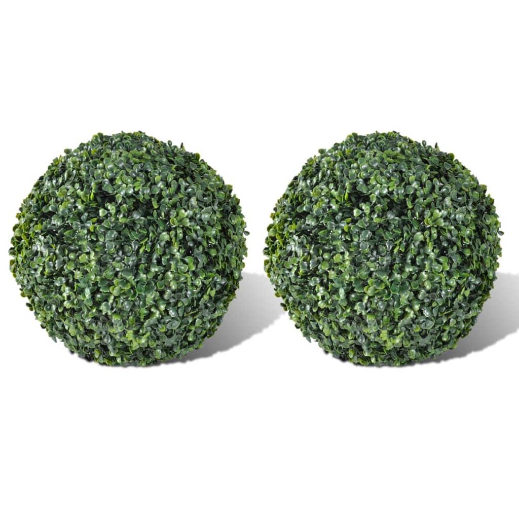 Konstgjord växt boll 27cm 2-pack