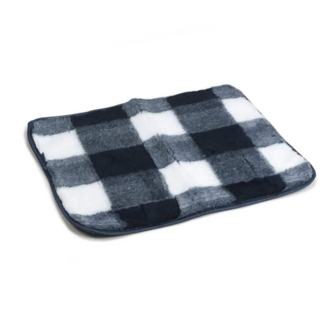 beeztees tapis de caisse 63 x 55 cm bleu et blanc. Black Bedroom Furniture Sets. Home Design Ideas