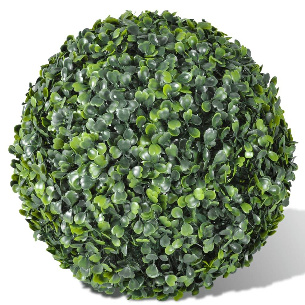 La boutique en ligne 2 pi ce de boule artificiel plante for Plante artificielle solde