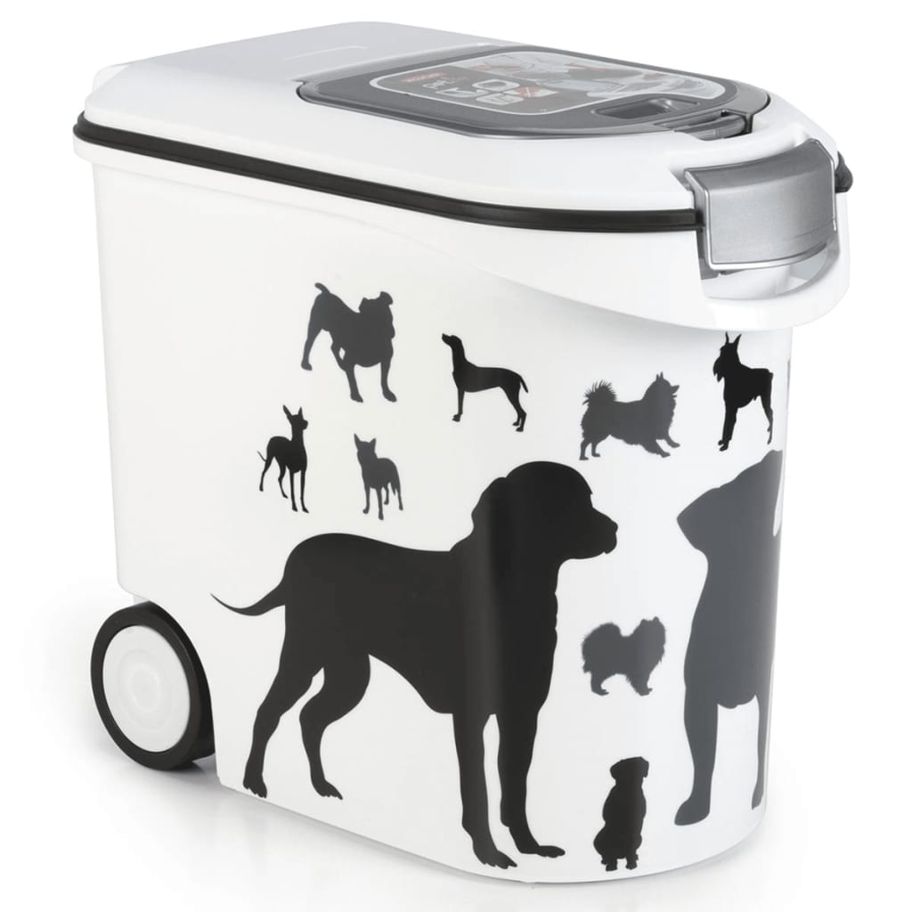 Afbeelding van Curver container silhouette hond 35l