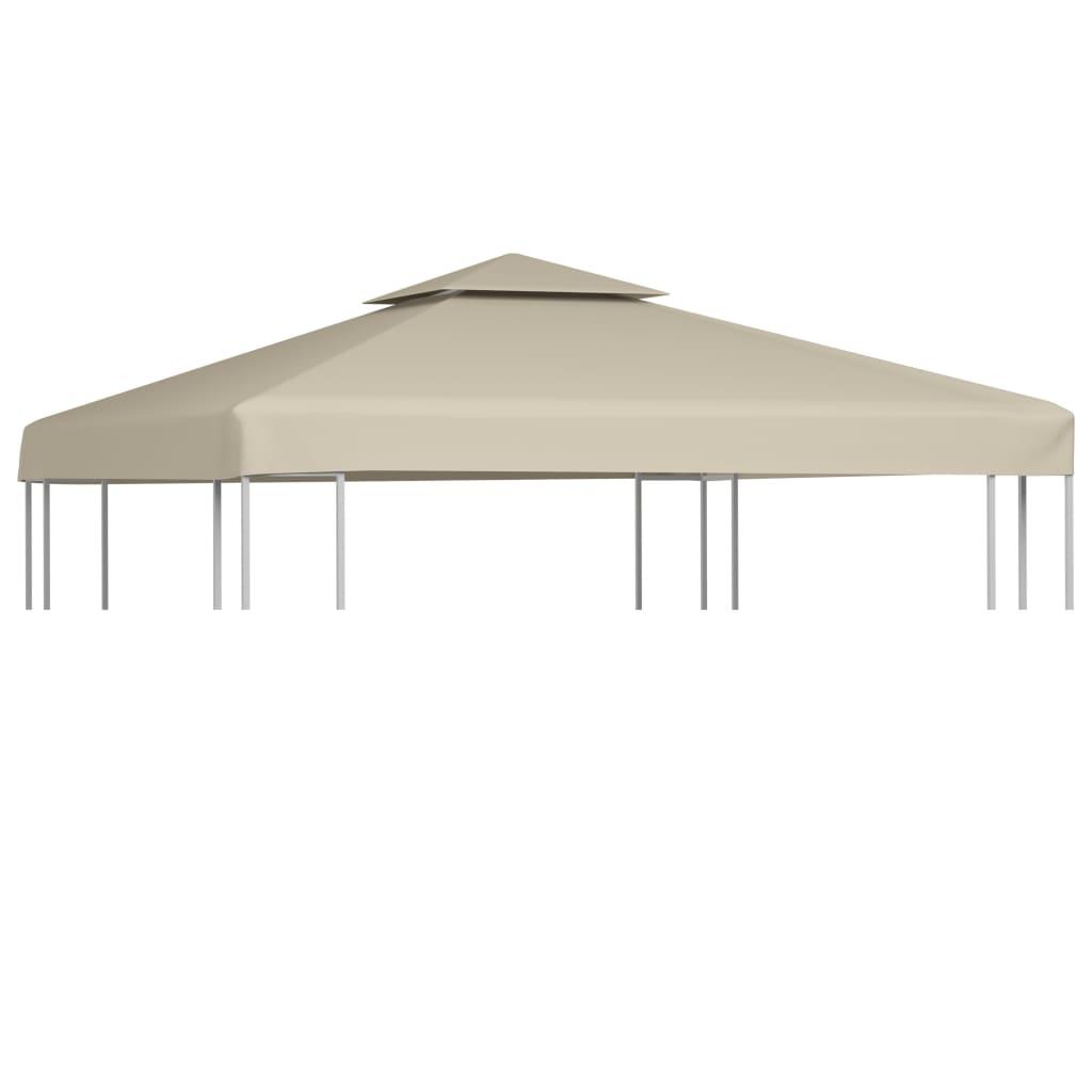 pavillon zeltplane festzelt plane abdeckung 270g m beige 3x3 m. Black Bedroom Furniture Sets. Home Design Ideas