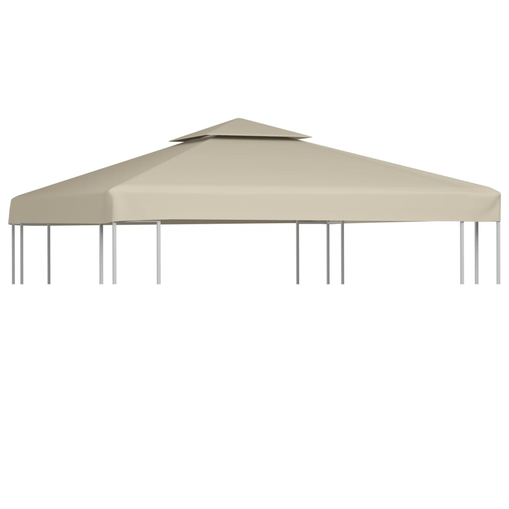 toile de rechange pour pergola gazebo tonelle pergola 3 x 3 m 270 g m ebay. Black Bedroom Furniture Sets. Home Design Ideas