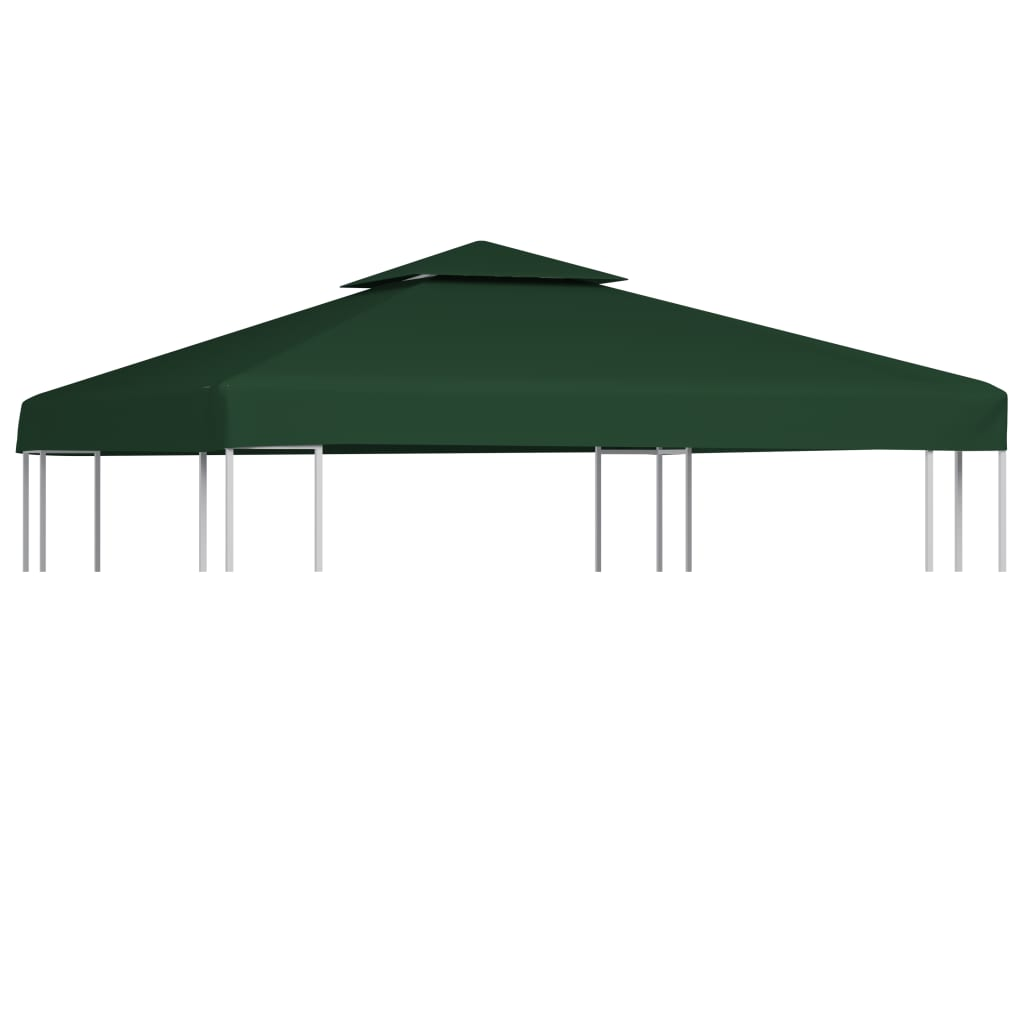 Waterproof gazebo cover canopy oz yd green 10 39 x 10 - Tonnelle de jardin ...