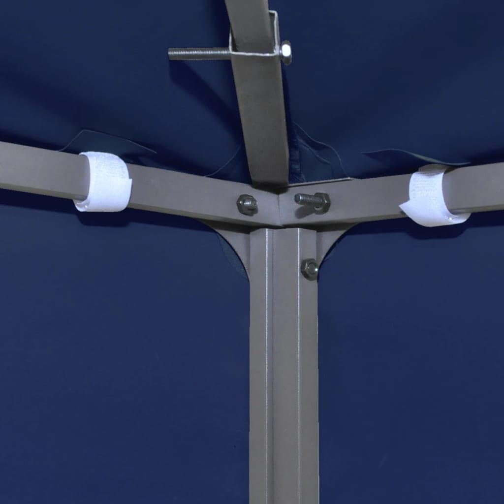 prieel partytent overkapping doek 270 g m 3 x 3 m blauw. Black Bedroom Furniture Sets. Home Design Ideas