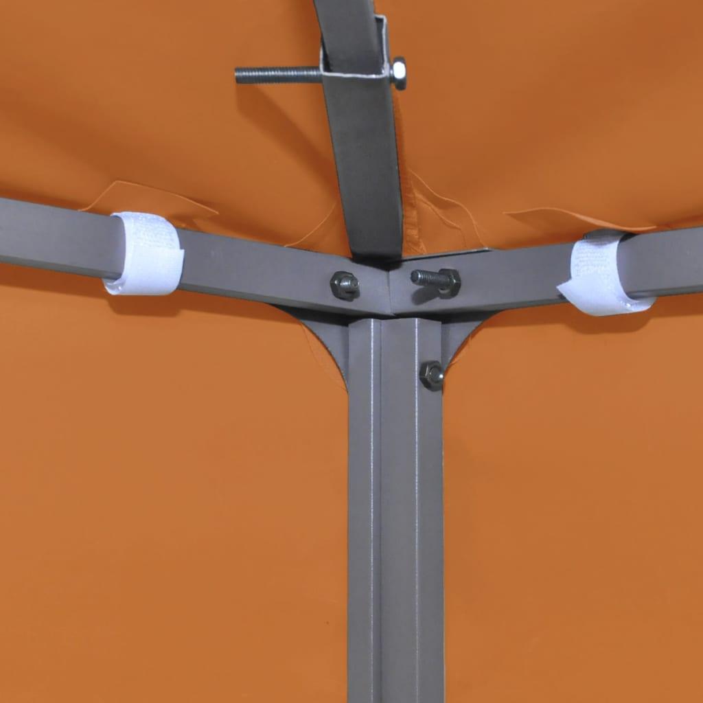 Waterproof gazebo cover canopy terracotta 10 39 x 13 - How to make a gazebo cover ...