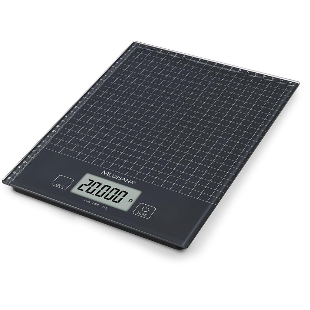 Medisana Bilancia digitale da cucina KS 240 Vetro 20 kg 40468