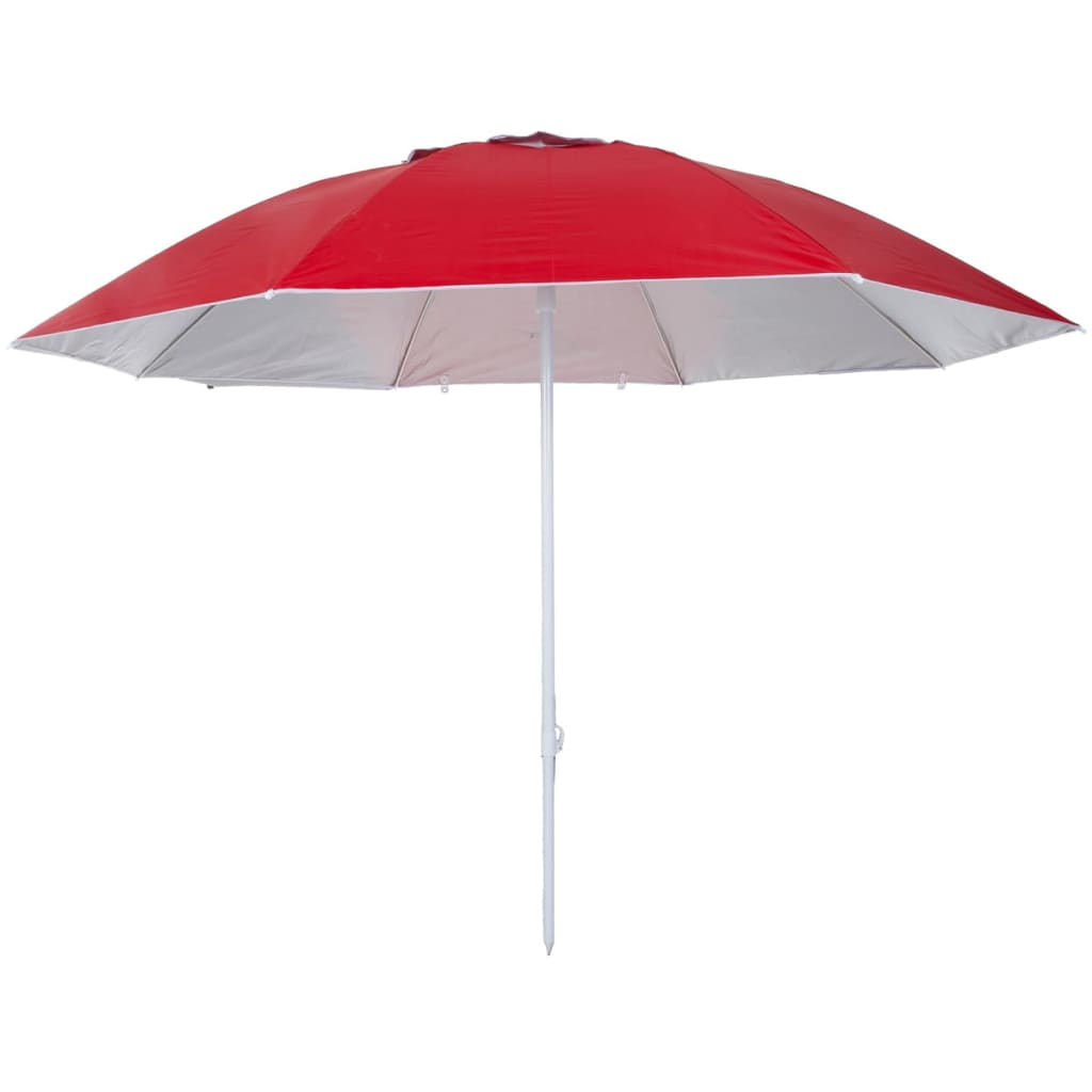 Pure2Improve P2I700060 UV-szűrős napernyő 240 cm piros