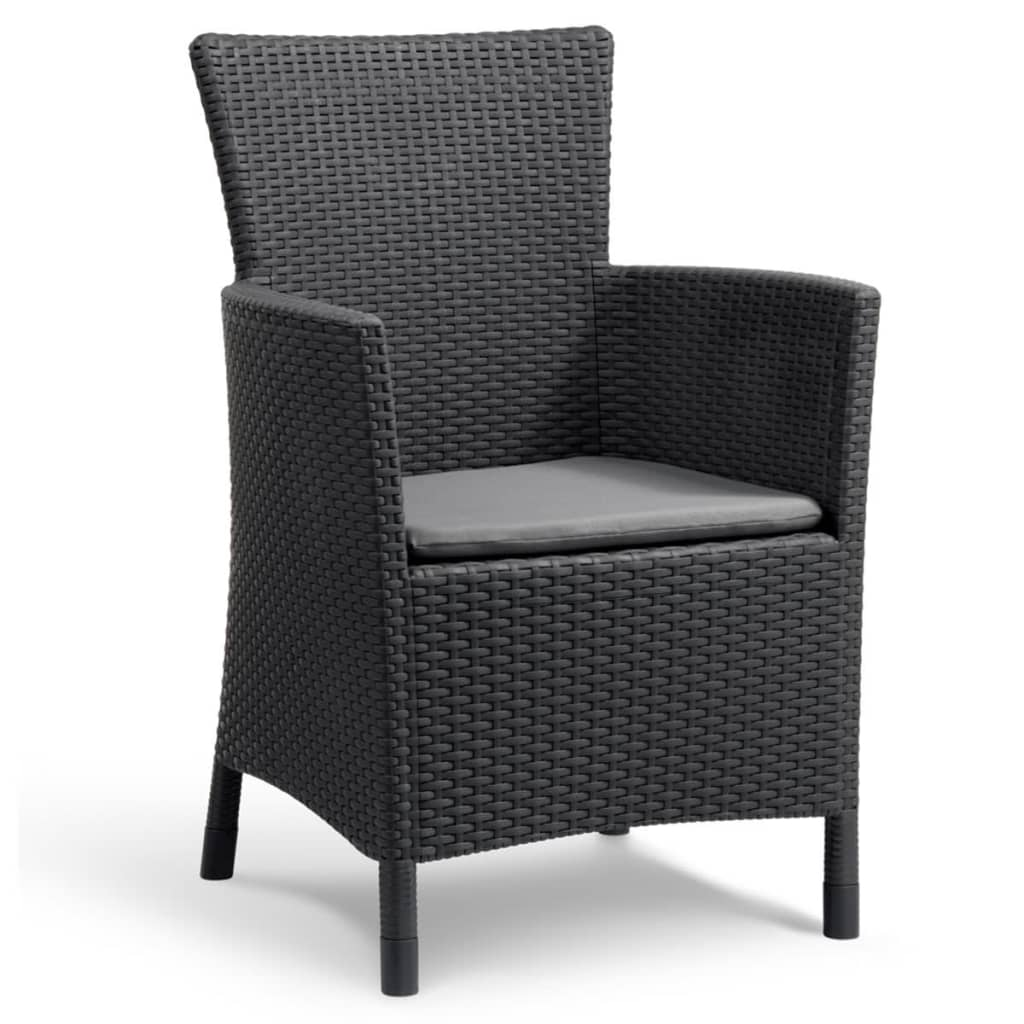 Acheter allibert mobilier de jardin iowa 3 pi ces graphite for Acheter mobilier jardin