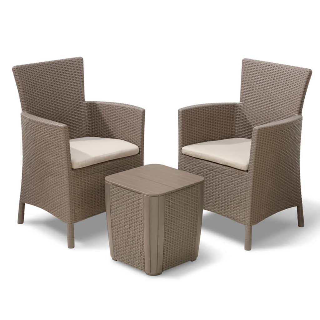 Acheter allibert mobilier de jardin iowa 3 pi ces - Solde mobilier de jardin ...