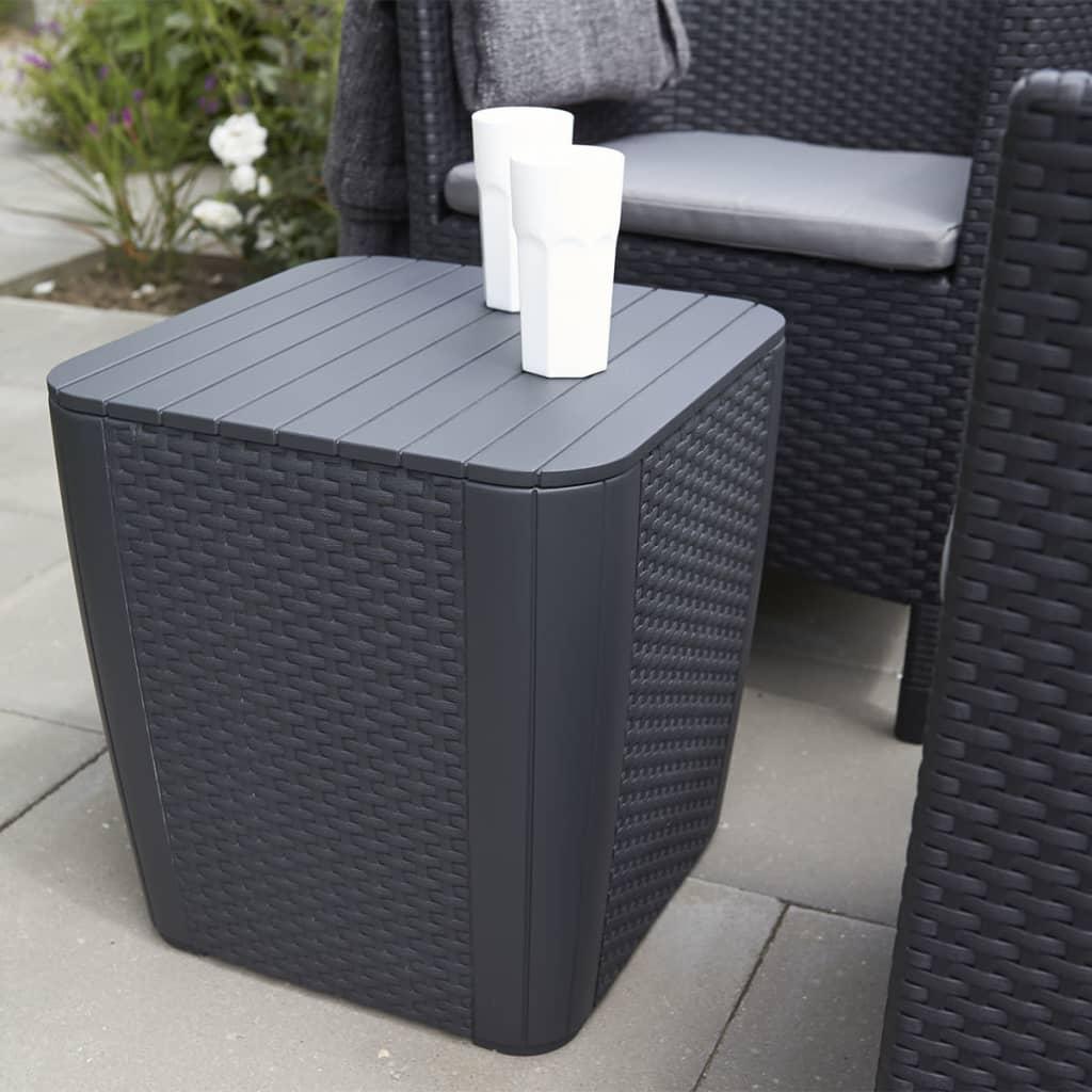 Acheter allibert table de rangement de jardin luzon for Table de rangement