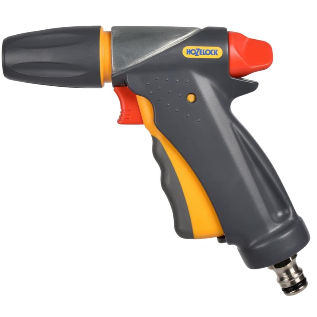 Acheter hozelock pistolet d 39 arrosage pour tuyau jet spray ultramax gris pas cher - Pistolet d arrosage ...