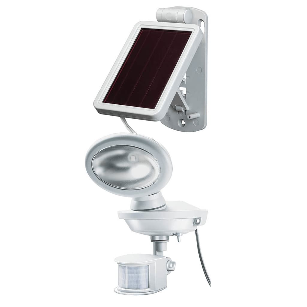 Brennenstuhl l mpara solar para exteriores led sol 14 plus for Lampara solar led