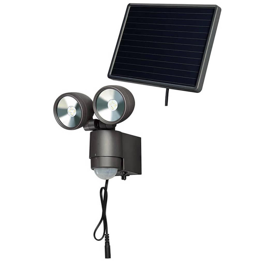 Afbeelding van Brennenstuhl LED-Spotlight op zonne-energie SOL 2x4 antraciet 4 W 1170920