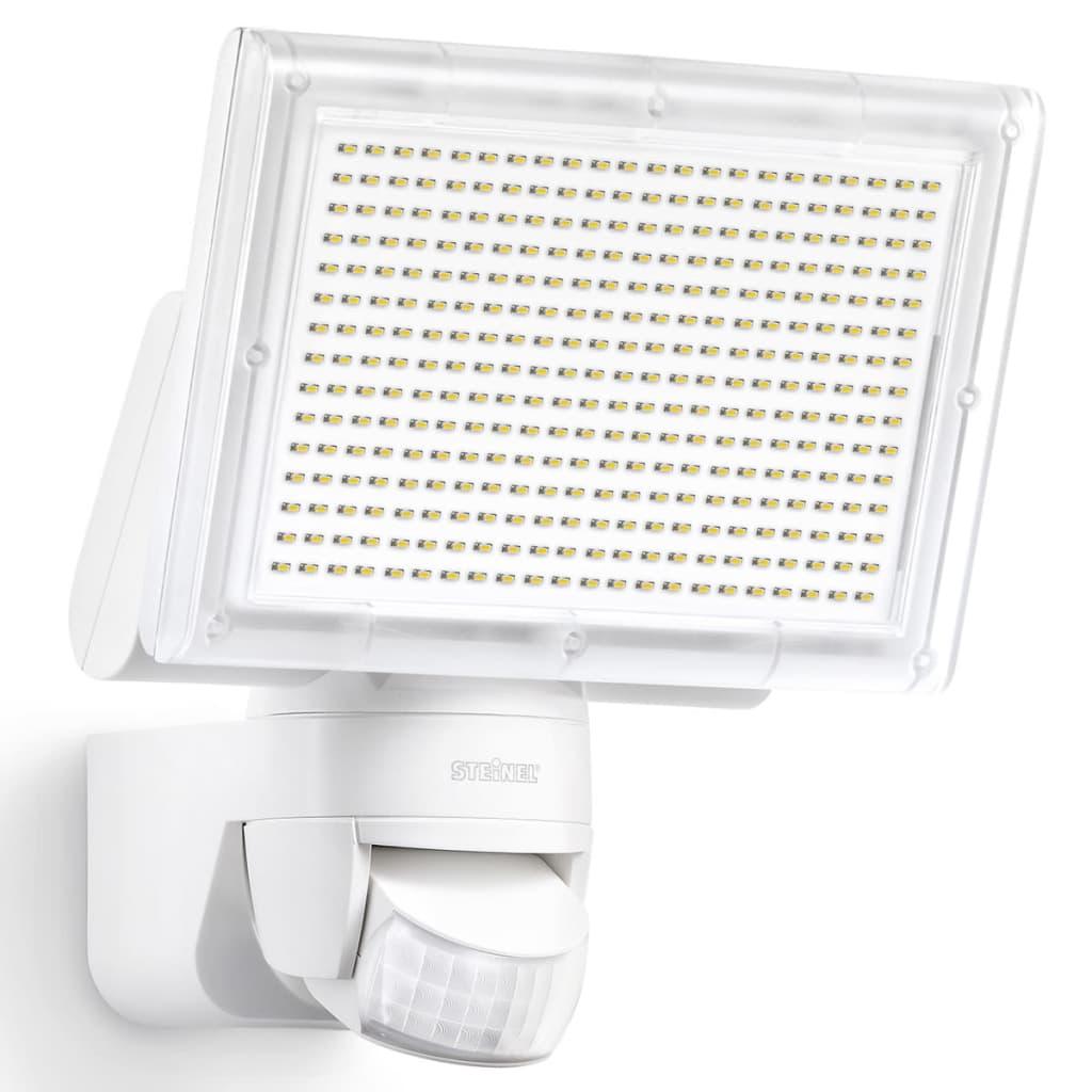 steinel sensor led floodlight xled home 3 white 029715. Black Bedroom Furniture Sets. Home Design Ideas