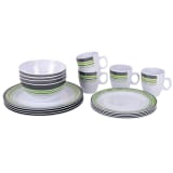 Bo-Garden 16 Piece Dish Set Melamine Multicolour 6181125