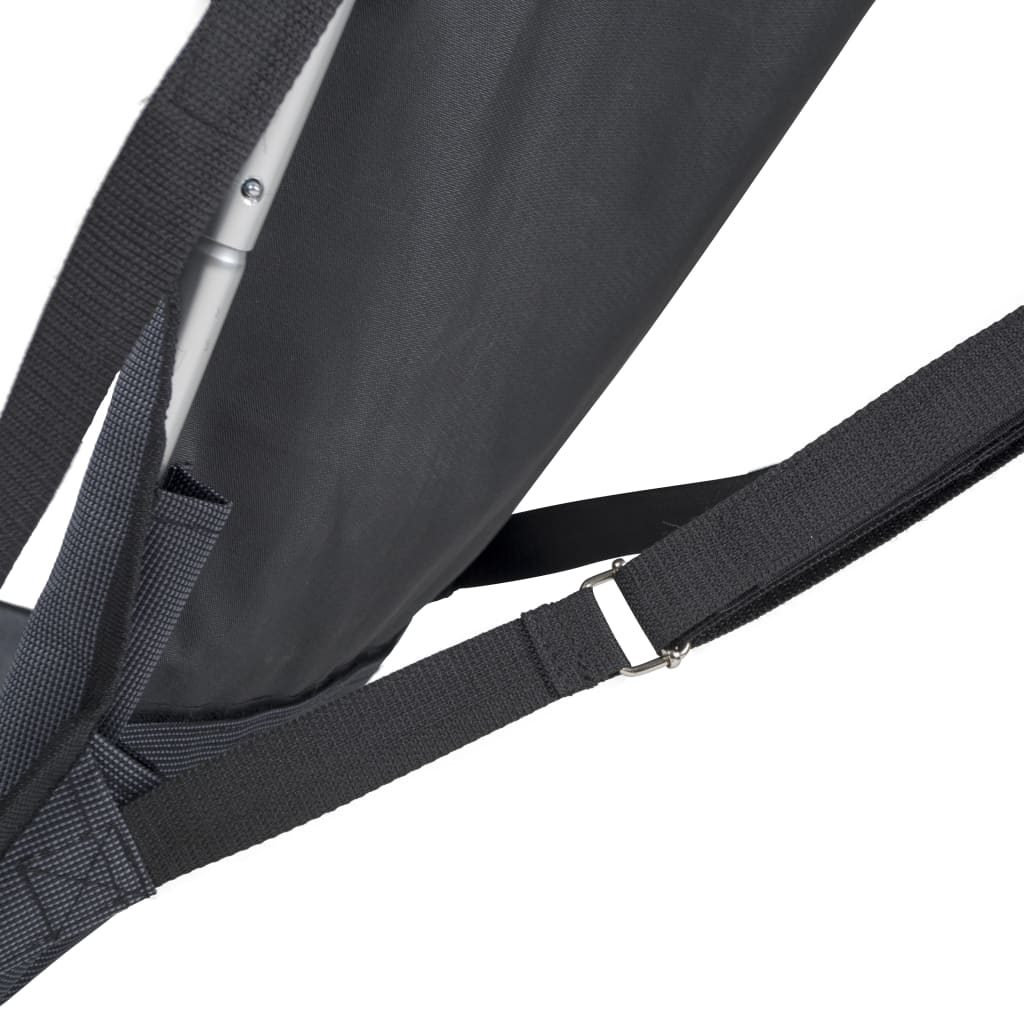 acheter bo trail chaise de camping aluminium anthracite 1204600 pas cher. Black Bedroom Furniture Sets. Home Design Ideas