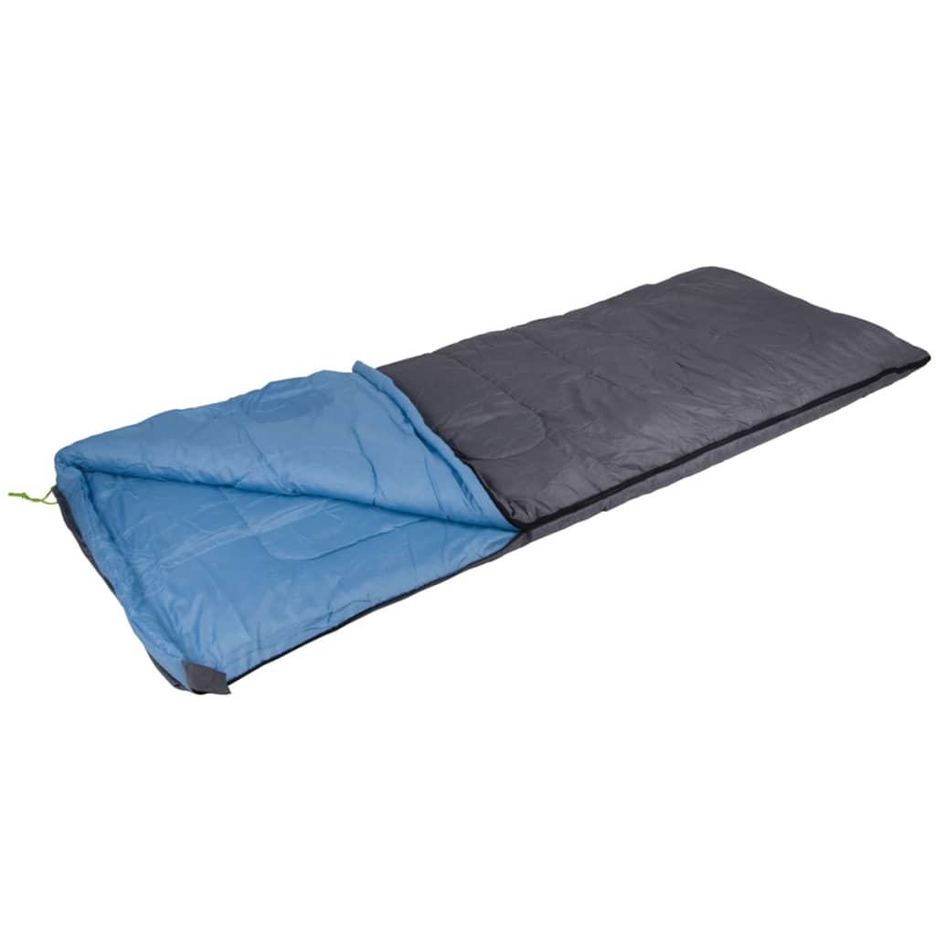 camp gear schlafsack comfort 220x80 cm grau und blau. Black Bedroom Furniture Sets. Home Design Ideas