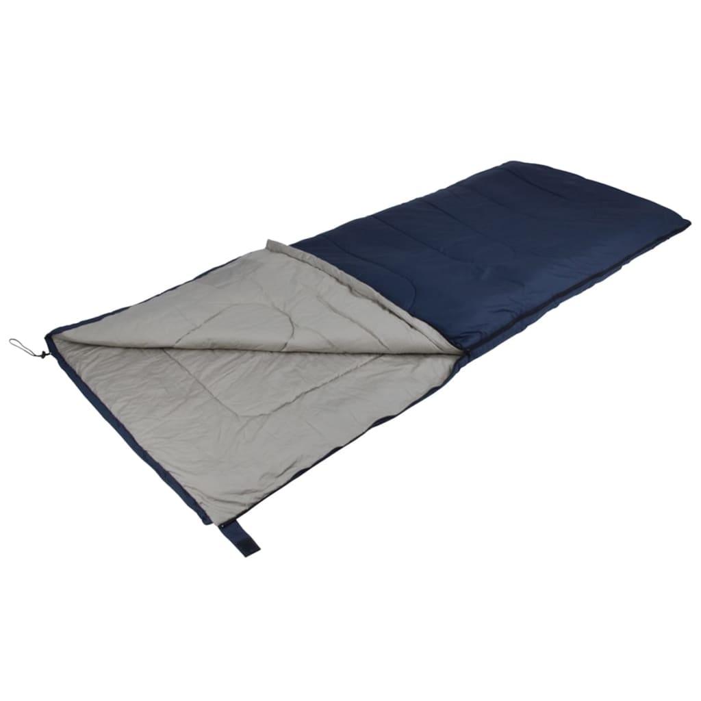 camp gear schlafsack comfort 215x85 cm blau und grau. Black Bedroom Furniture Sets. Home Design Ideas