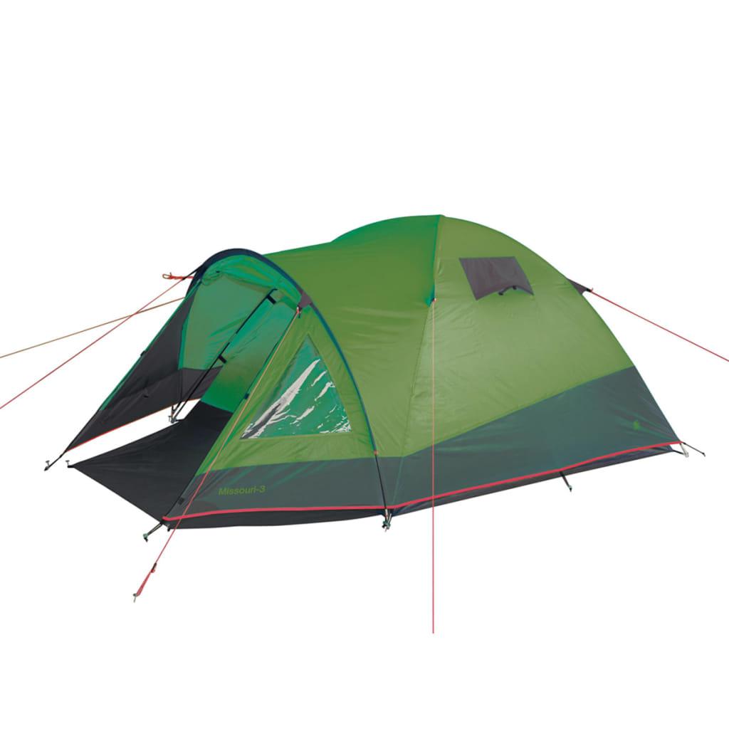 acheter camp gear tente pour 3 personnes missouri 300x180x125 cm vert 4471527 pas cher. Black Bedroom Furniture Sets. Home Design Ideas
