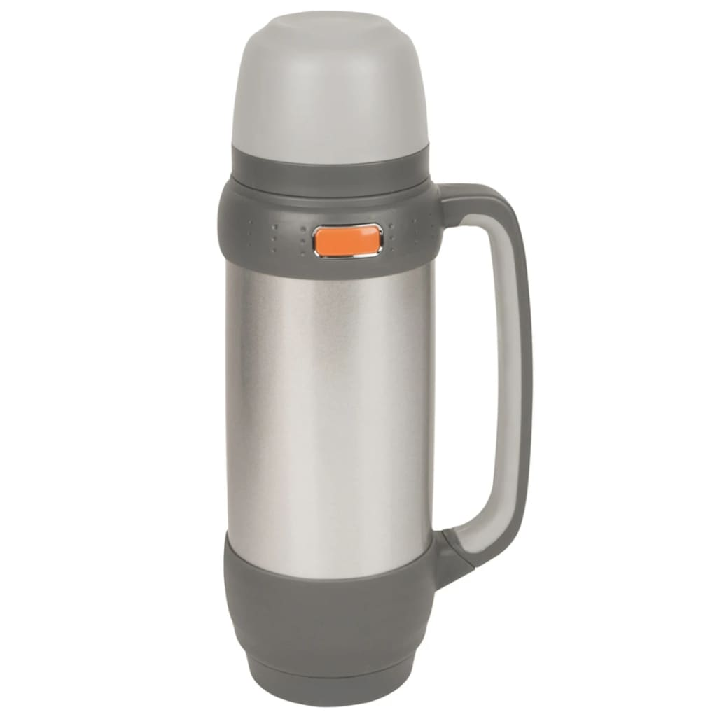 Camp Gear Insulated Thermos 1 L Stainless Steel 7302524