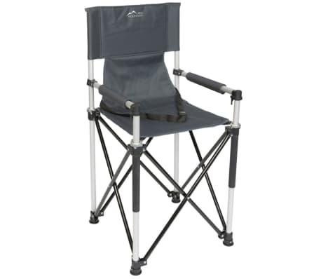 red mountain chaise haute pliable pour enfants aluminium gris. Black Bedroom Furniture Sets. Home Design Ideas