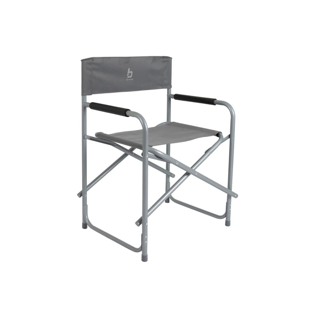 Red Mountain Krzesło kempigowe, krzesło reżysera, szare, stal, 1267211