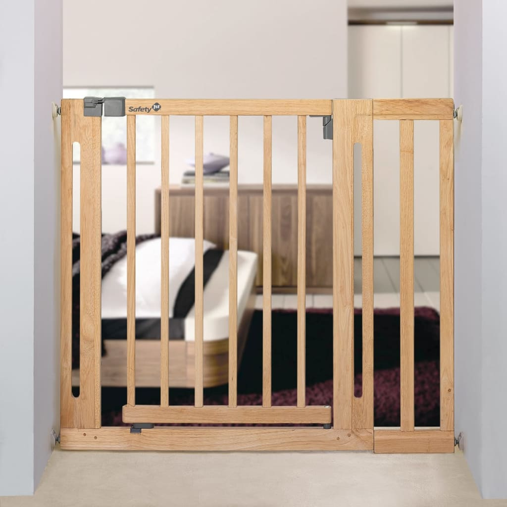 Baby bed extension uk -  409222 Safety 1st Safety Gate Extension 16x77 Cm Wood 24940104 3 3