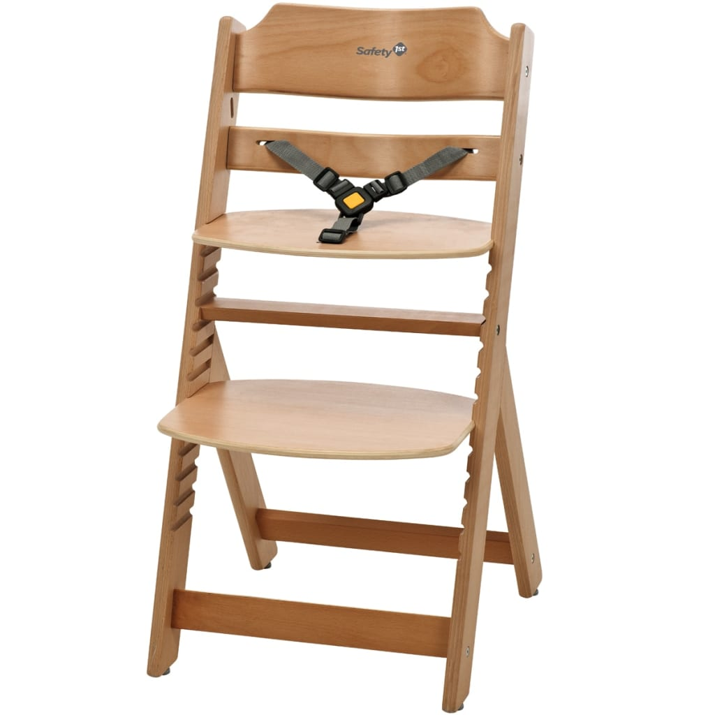 safety 1st high chair timba natural wood 27620100. Black Bedroom Furniture Sets. Home Design Ideas