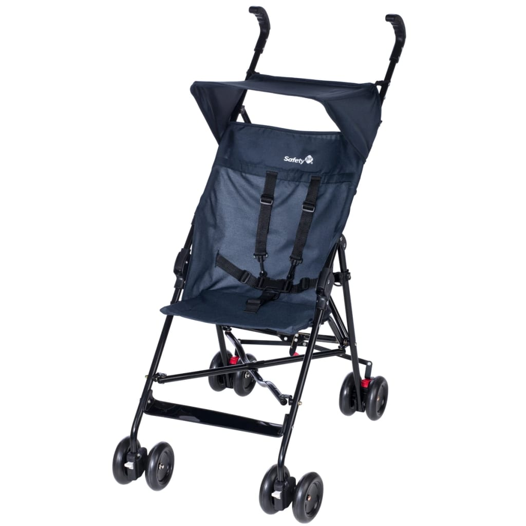 der safety 1st baby buggy mit verdeck peps schwarz blau 11827670 online shop. Black Bedroom Furniture Sets. Home Design Ideas