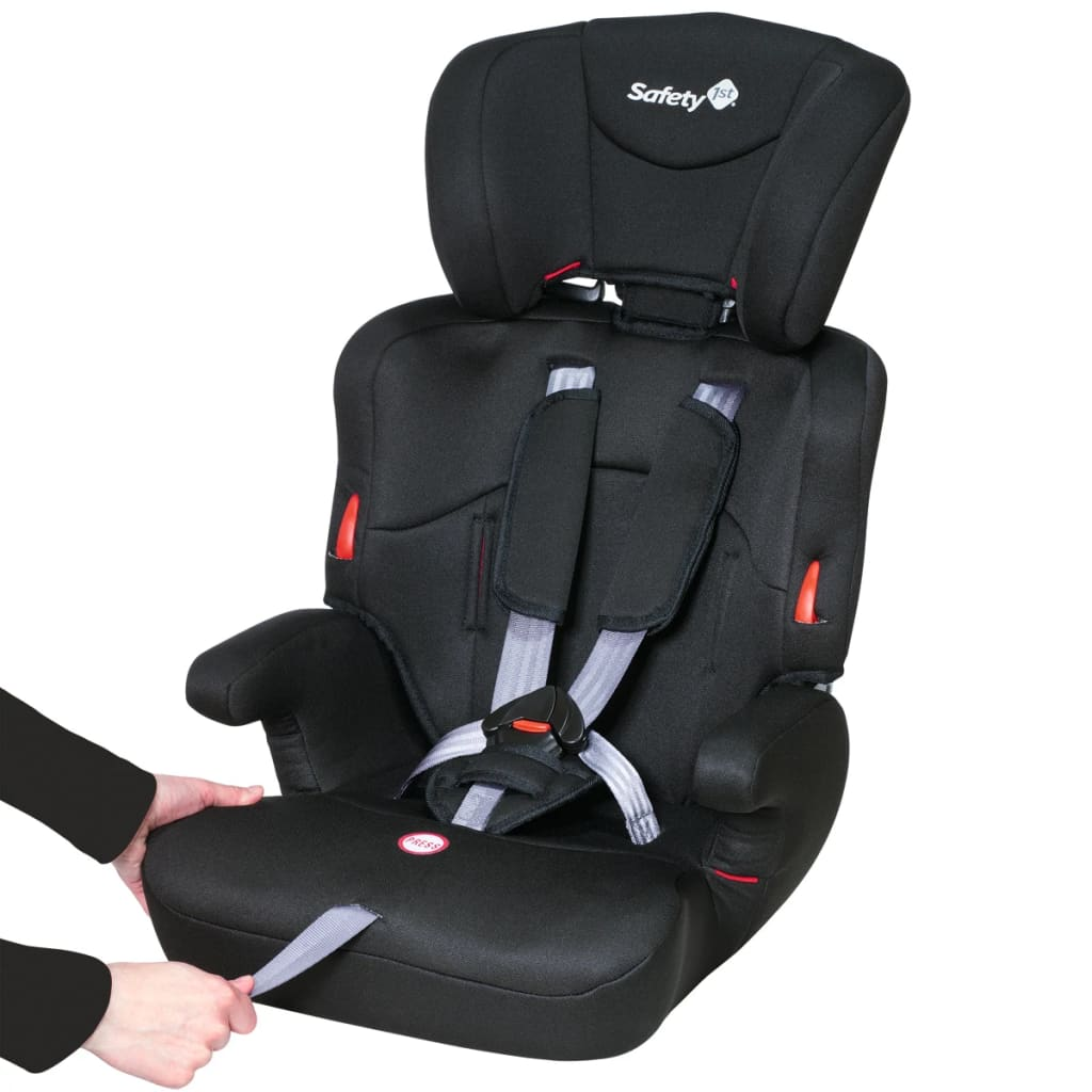 Safety 1st silla de coche para ni os ever safe 1 2 3 negra for Sillas de coche ninos