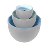 "Ubbink Acqua Arte Dispositif d'eau ""Torretta"" bleu"