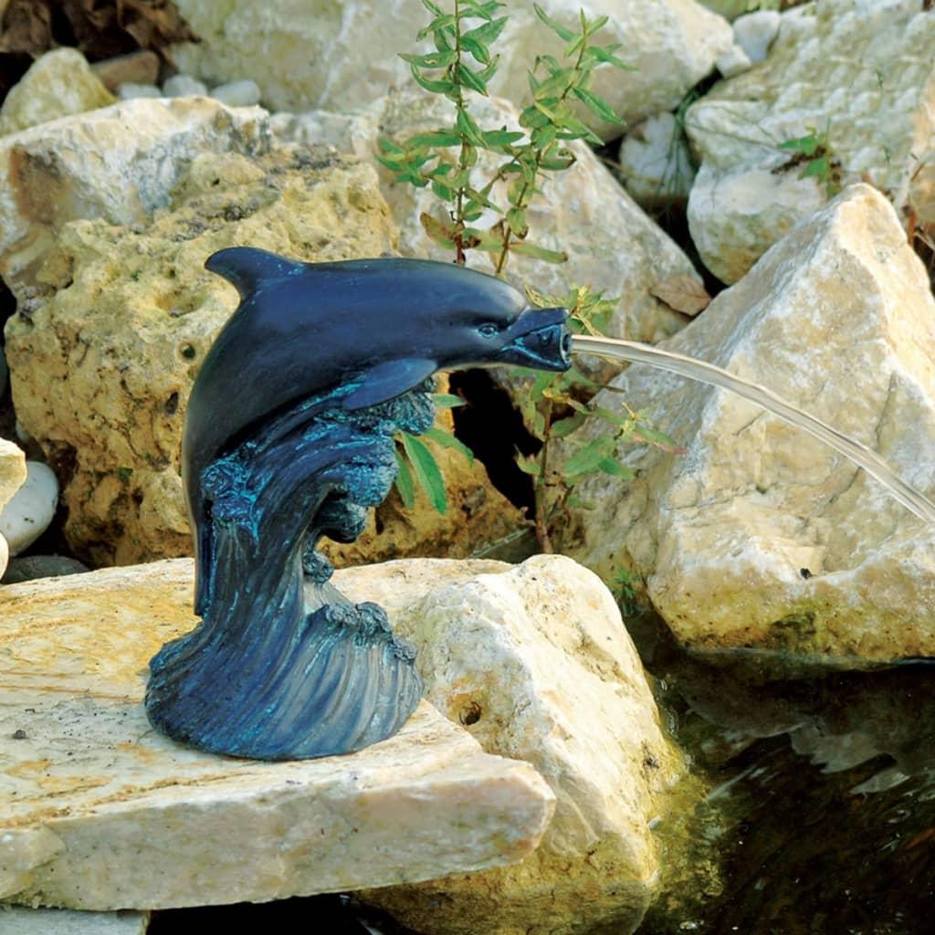 Ubbink pond spitter dolphin 18 cm 1386020 for Bassin fontaine exterieur
