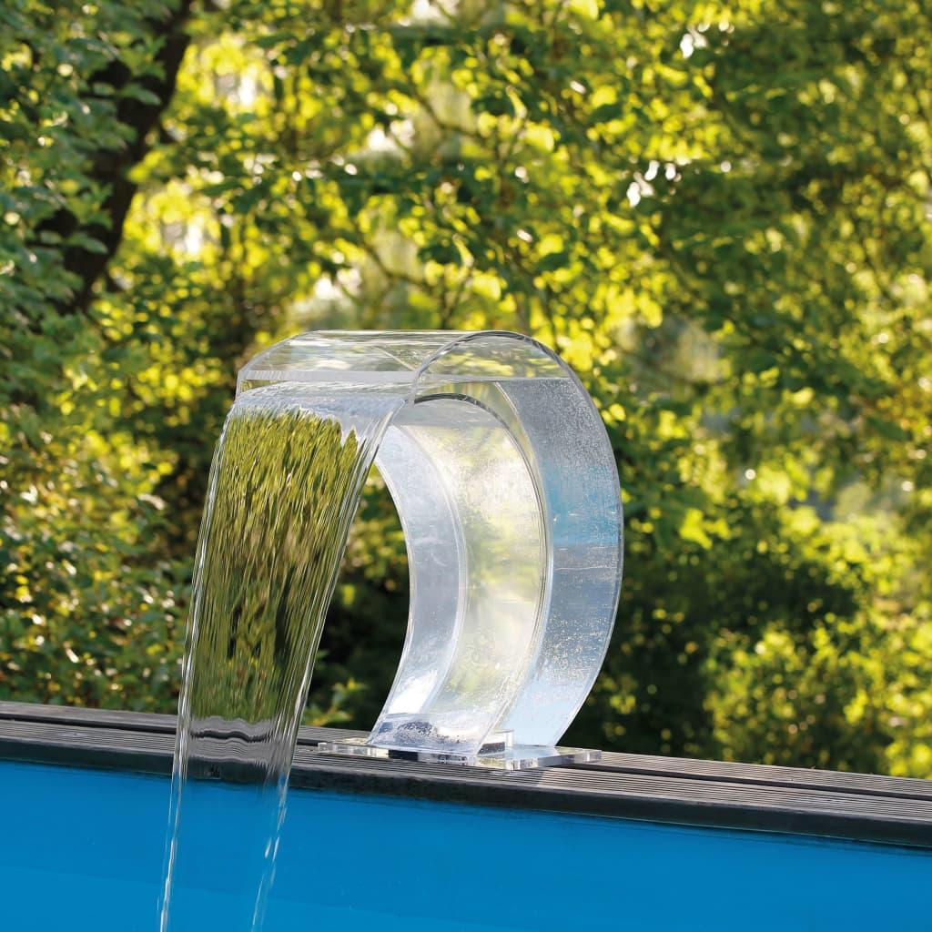 Ubbink wasserfall mamba transparent 7504637 zum for Wasserfall mamba