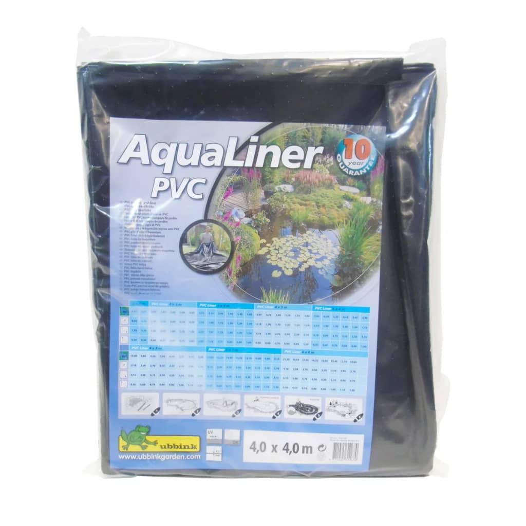 Acheter ubbink b che d 39 tang aqualiner pvc 4 x 4 m pas for Bache pvc etang