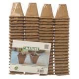 Nature Peat Pots 80 pcs 6x6x6 cm 6020127