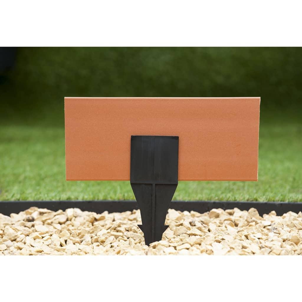 Acheter nature bordure de jardin 500 x 12 cm terre cuite for Bordure de jardin pas chere