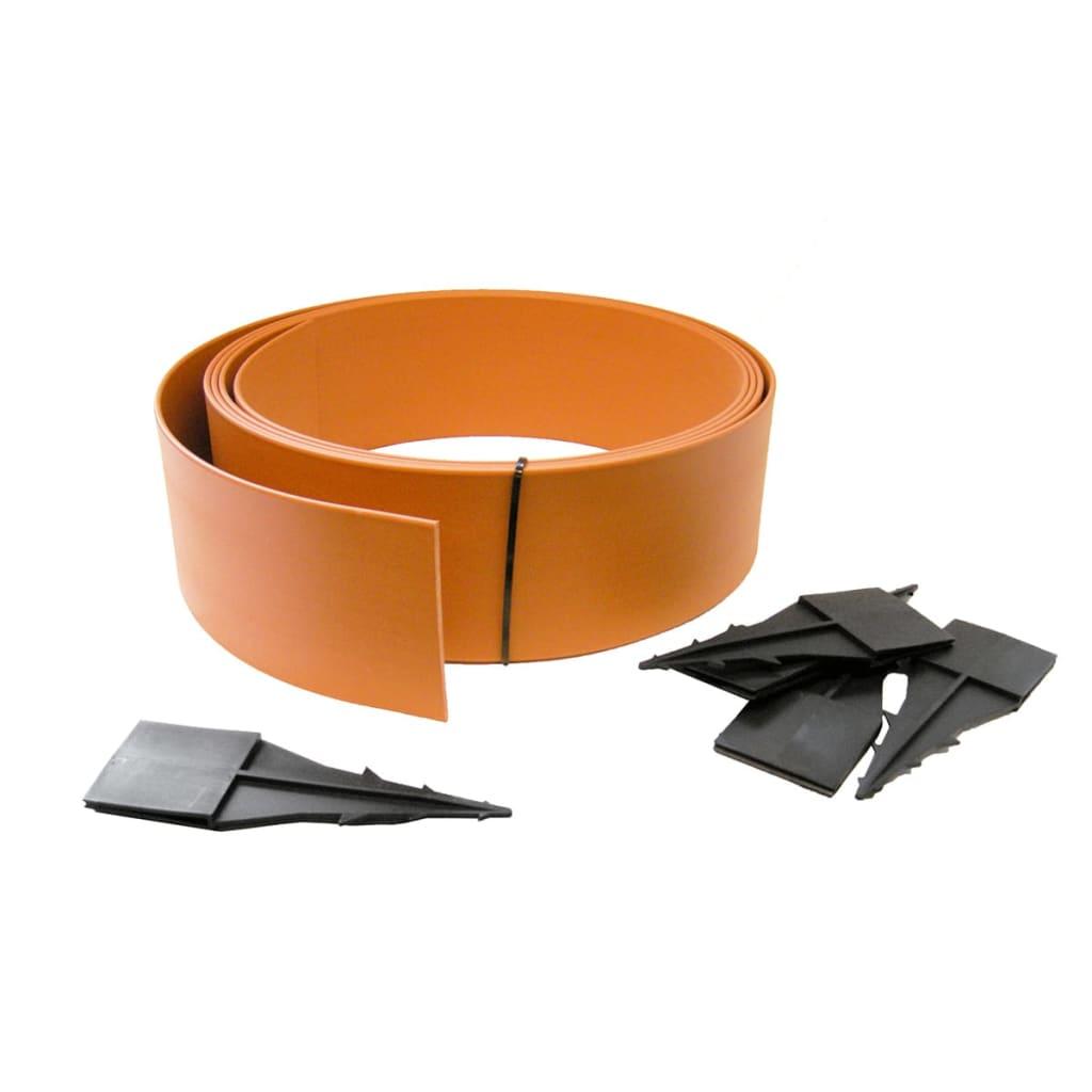 nature garteneinfassung 500x12 cm terrakotta 6040620 g nstig kaufen. Black Bedroom Furniture Sets. Home Design Ideas