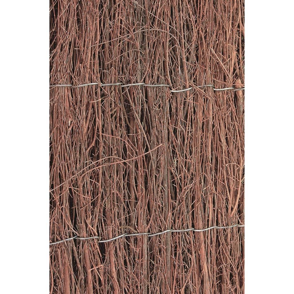 Nature valla de jard n 500x150 cm brezo 6050101 tienda - Vallas de jardin ...