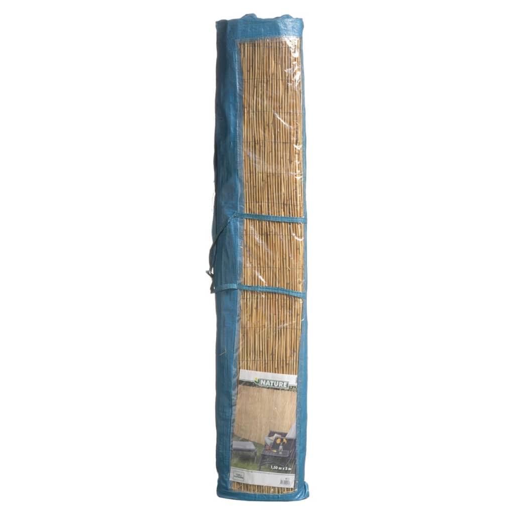 Acheter nature projection de jardin 500 x 200 cm en roseau et bambou pas cher for Cloture jardin roseau