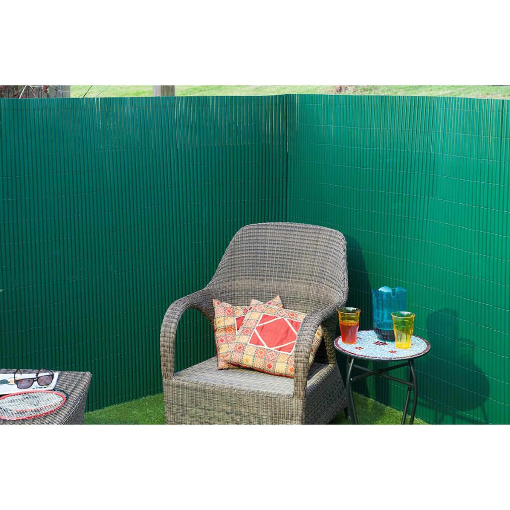 Nature malla de ocultaci n de jard n 1x3 m pvc verde - Mallas para jardin ...