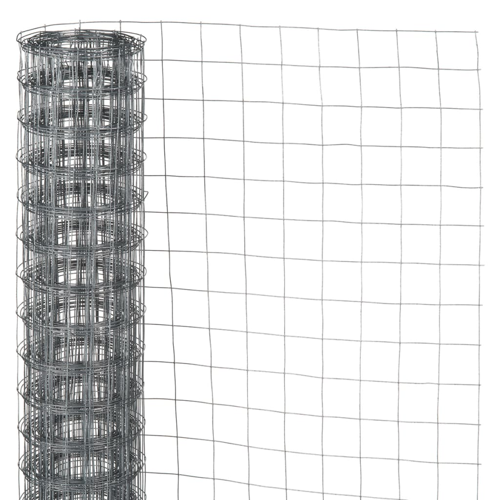 Nature malla de alambre cuadrado 1x5 m acero galvanizado - Malla alambre galvanizado ...