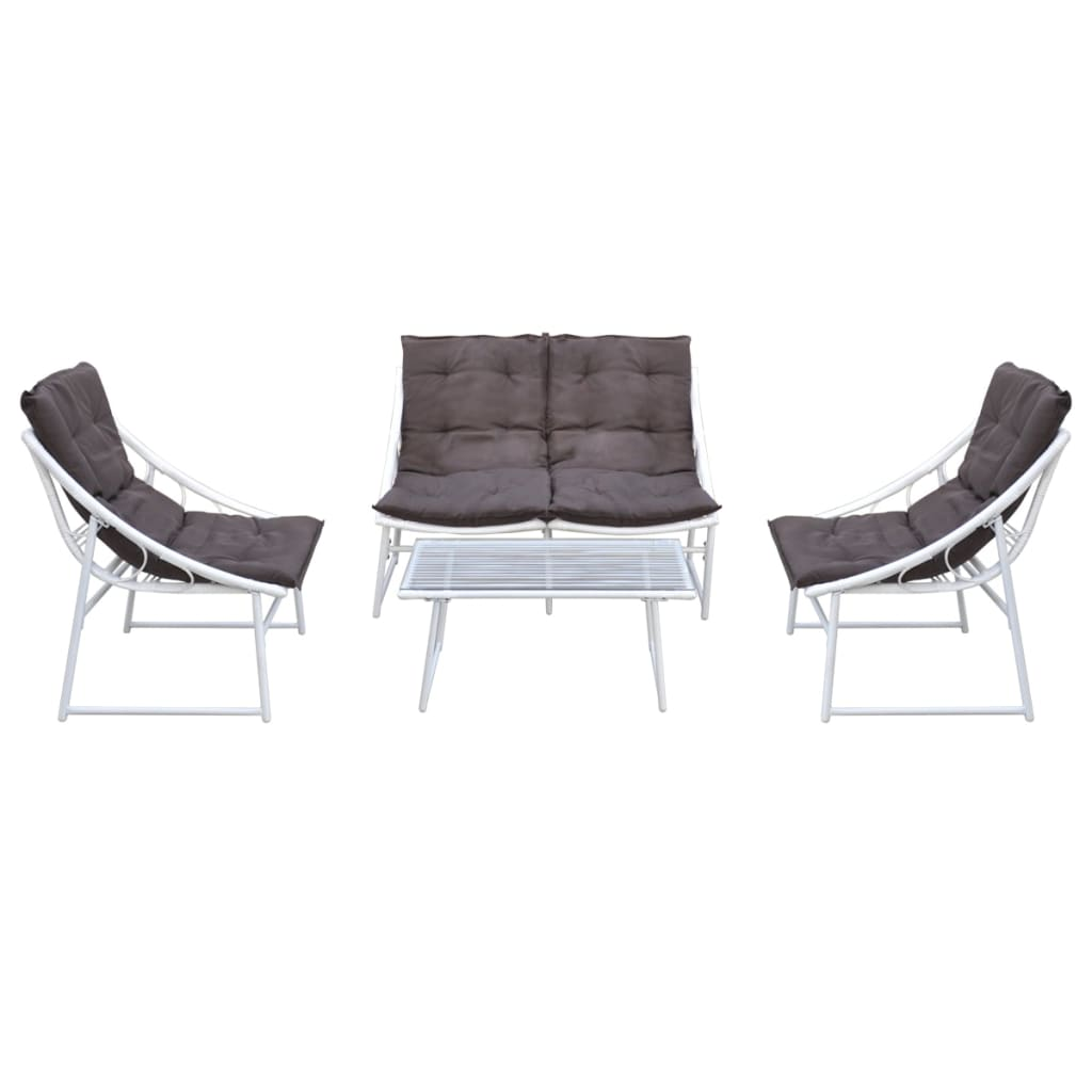 Meuble cuisine table ensemble table et chaise blanc for Ensemble table et chaise de cuisine blanc