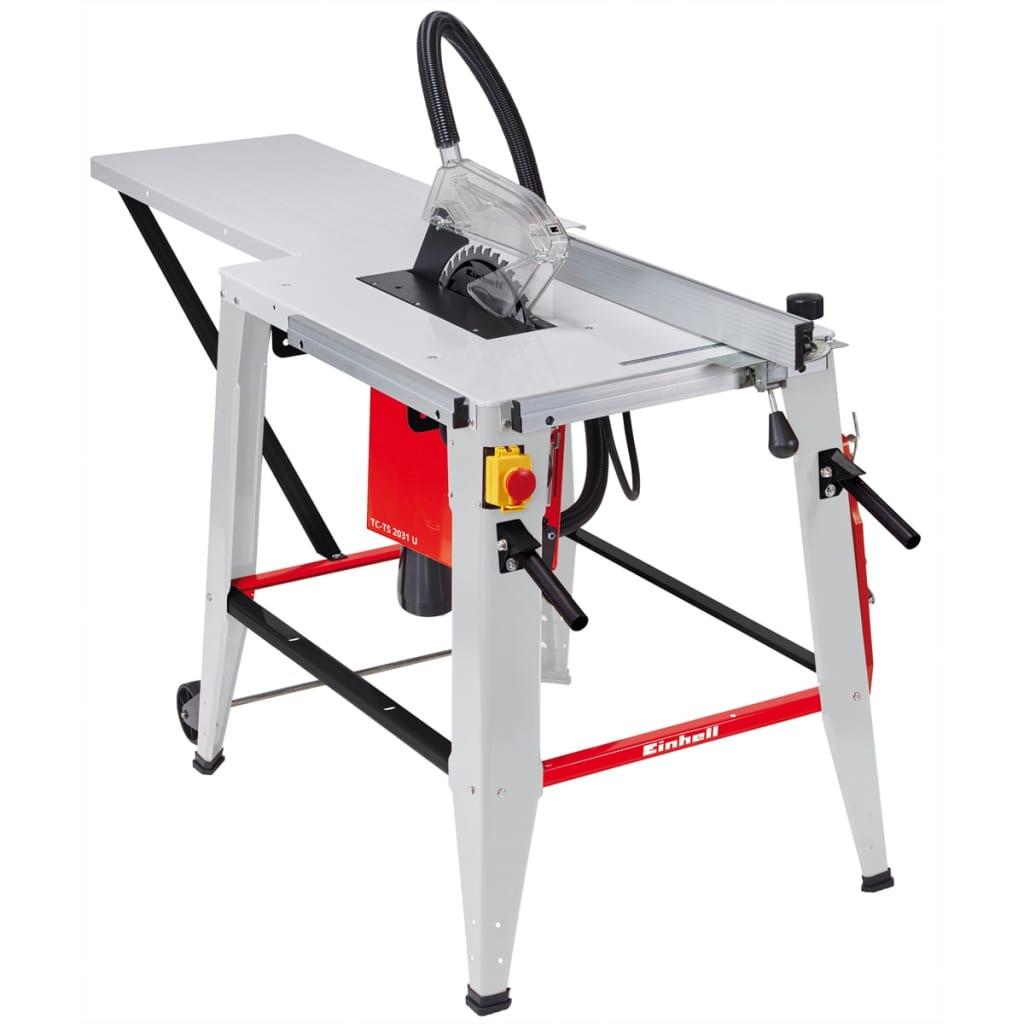 Einhell Scie sur table TC-TS 2031 U 2000 W 4340555 Cette scie sur table TC-TS 2031 U d'Einhell est un must pour les amateurs de bricolage et professio