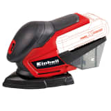 "Einhell Ponceuse multifonction sans fil ""TE-OS 18/1 Li Solo"" Rouge"