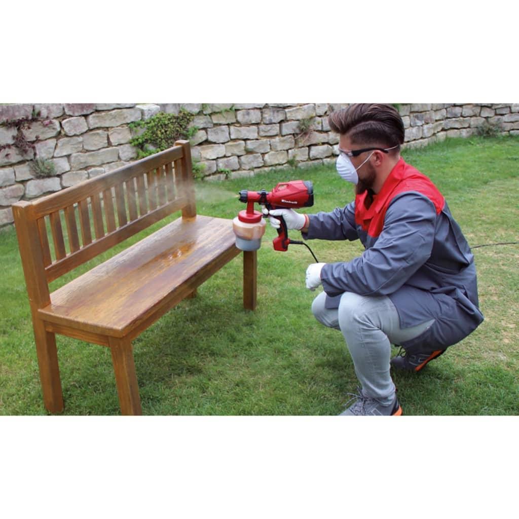 acheter einhell pistolet peinture lectrique tc sy 400 p 400 w pas cher. Black Bedroom Furniture Sets. Home Design Ideas